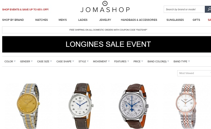 Longines Sale Jomashop